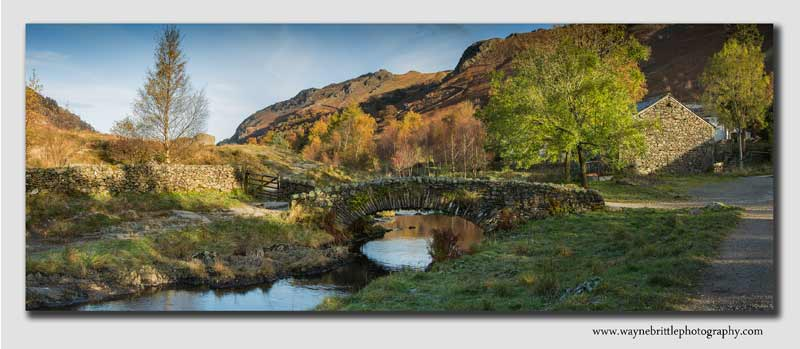 Wantendlath Bridge Panorama - Cumbria