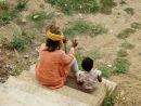 Jaisalmer - master and apprentice