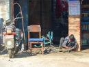 Kathmandu boy with bike