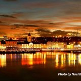 Waterford City Sunset.