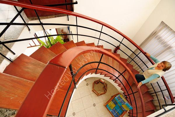 Interior Hostal Islas San Bartolo
