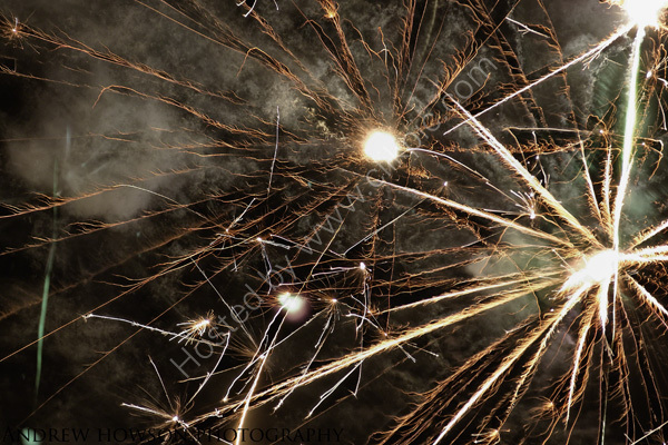 Peru Christmas fireworks