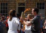 Olympic Torch Relay  -  Pulteney Street, Bath