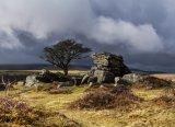 Storm Clouds Over Saddle Tor  -  Dartmoor