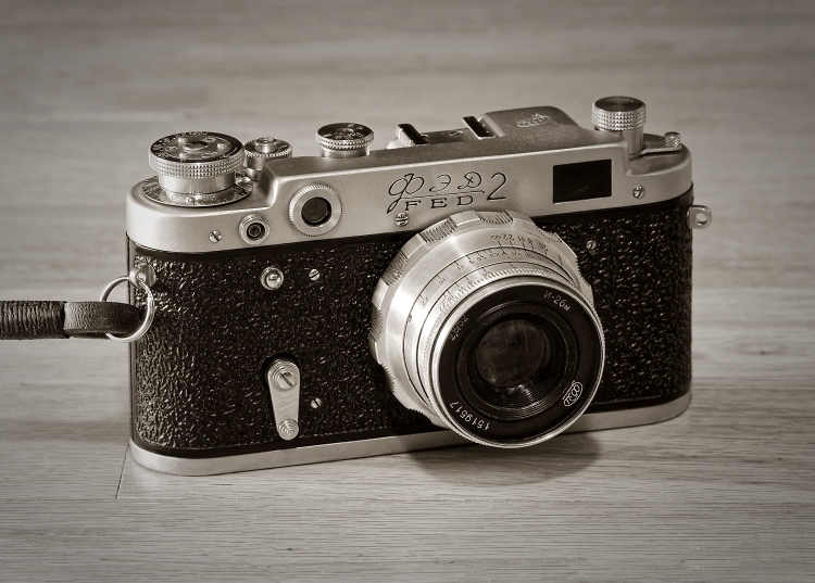 FED 2 (D6) rangefinder (1960)