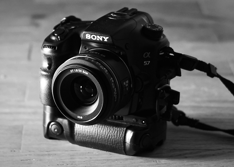 Sony SLT-A57 DSLR (2012)
