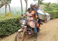 Carrying Supplies Home