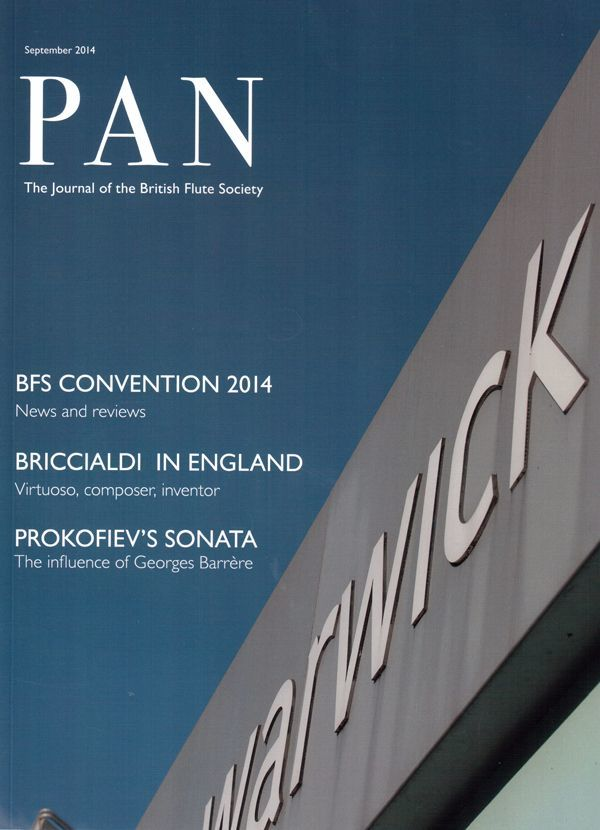 Pan Cover September 2014