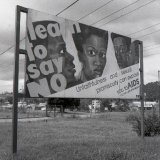 AIDS Poster - Kampala - Uganda 1996
