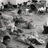Coffee bean graders - Mityana - Uganda 1996