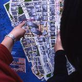 Ground Zero - Street Map - New York City 2002