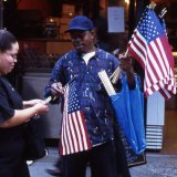 Ground Zero  Street Trader - New York City 2001