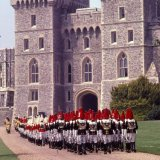 Household Cavalry - Garter Ceremony - Windsor Castle 1982