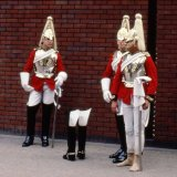 Household Cavalry Barracks - Troopers - London 1982