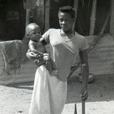 Mother with polio and child - Uganda 1996