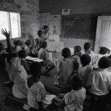 Primary school class - Uganda 1996
