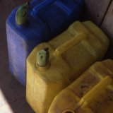 Water containers - Uganda 1996