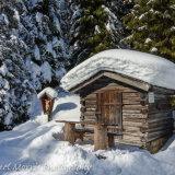 Hut by the Verwallsee