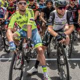 Adam Blythe and Mark Cavendish