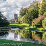 Fountains Abbey from the Moon Pond