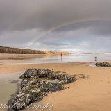 Rainbow over Seaham Beach