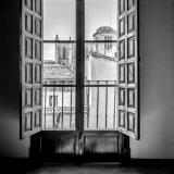 View of Palma Cathedral (mono)