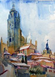 Catedral desde Casa del Sol - Segovia