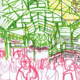 Borough Market sketch1