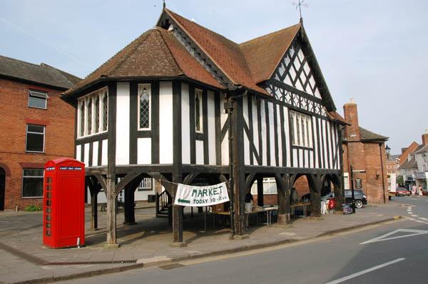 Ledbury Old Market Gloucestershire