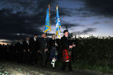 March down from Flodden