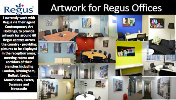 Photography for Regus Offices