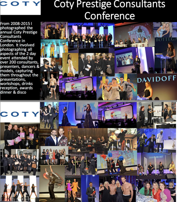 Coty Prestige Consultants Conference