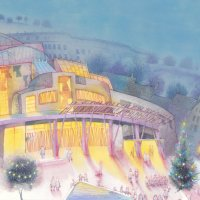 Scottish Parliament Christmas card