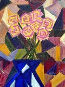 Cubist flowers