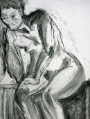 leaning female