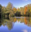 Autumn Falls on Westwood Lake