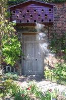 Door and Dovecote at Alnwick Garden