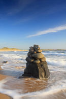 Beach Sculture Embleton Bay