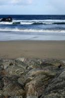 Gneiss Rocks on Dail Beg beach