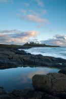 Sunrise at Dunstanburgh