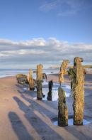 Sandsend Beach, Nr Whitby, North Yorkshire