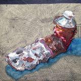 Paint (Van Dyke Brown) (SOLD)