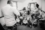 Childrens entertainer at christening