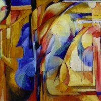 Composition-with-Violin 50 x 40cm