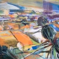 The Long Walk, Pastel 75 x 55 cm