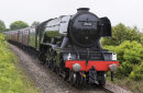 Flying Scotsman through New Hartley