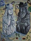 Opposites. Oil on canvas. 45x35 cm