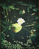 Waterlily. Acrylic on canvas