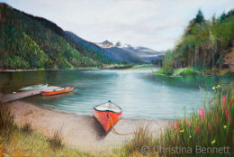 Griffin Lake, British Columbia, Canada