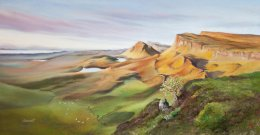 The Quiraing at Sunrise, Isle of Skye